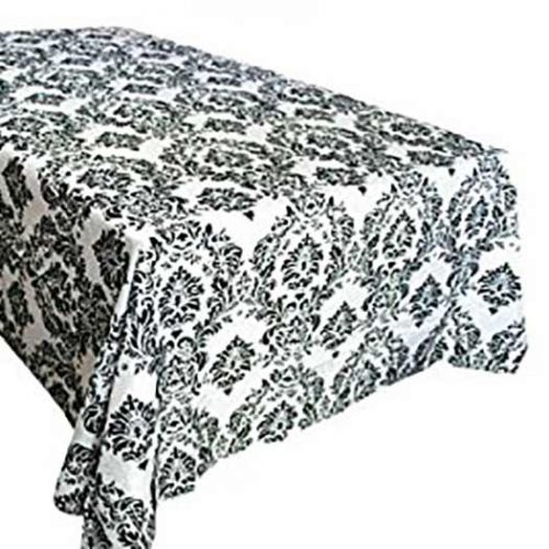 Rectangle Damask Tablecloth