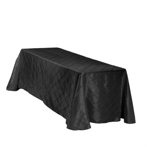 Rectangle Pin Tuck Tablecloth