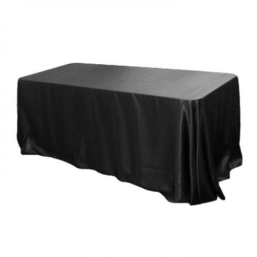 Rectangle Satin Tablecloth