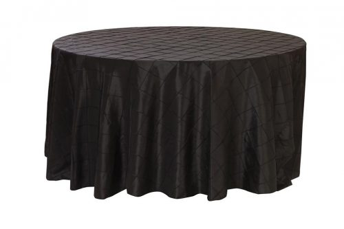 Pintuck Round Tablecloth