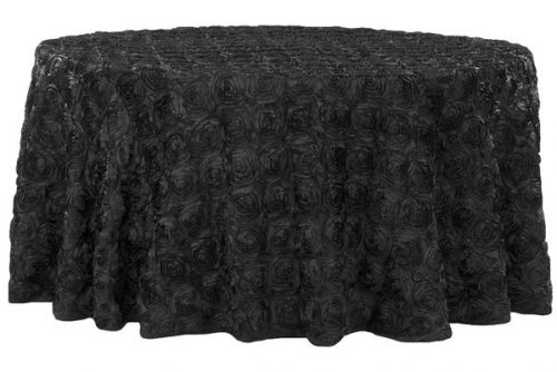 Rosette Round Tablecloth