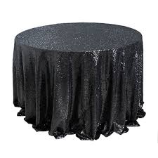 Sequin Round Tablecloth